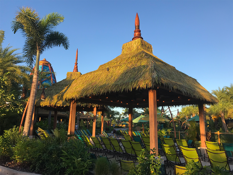 Volcano Bay Shade Structures