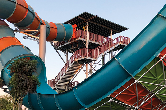 Aquatica Slide Roof